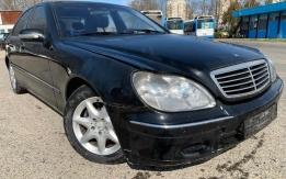 MERCEDES-BENZ S430 W220 113.941 (1999) AUTOMATA! ALKATRÉSZEK
