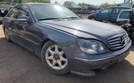 MERCEDES-BENZ W220 (1998-2005) S 500 113.960 AUTOMATA!